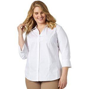 Button down casual - dress shirt - 3x